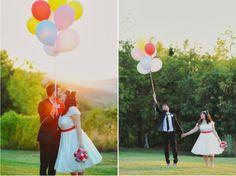 Inspiração | Como usar Balões no Casamento