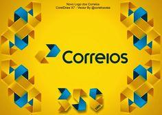Correios Novo Logotipo - 2014 Vetorizado em CoreDraw X7 - Corel na Veia