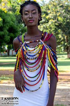 aphia sakyi jewelry african jewelry £46 More Clothing, Shoes & Jewelry: http://amzn.to/2iTBsa9