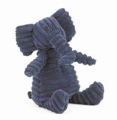 Cordy Roy Elefant Kuscheltier von Jellycat - aus schmuseweichem Breitcord gearbeitet! Bonuspunkte sammeln, auf Rechnung bestellen, DHL Blitzlieferung!