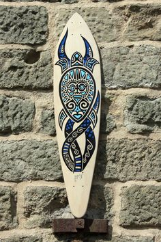 """""""Pintail"""" - classic longboard deck with a turtle design, no kicktails and a deep concave, ideal for carving, cruising and downhill by on Etsy Longboard For Sale, Longboard Decks, Longboard Design, Skateboard Design, Skateboard Girl, Skateboard Decks, Original Longboard, Snowboard Girl, Surfboard Art"""