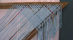 Barefootweaver: New Triangle Scarf (almost)!!