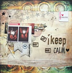 Keep calm by Smile_Art, using products from 3rd Eye <3