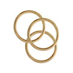 Gold Stack Ring | Daniella Draper Handcrafted Bespoke Jewellery