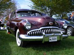 Check out the 1949 Buick Roadmaster Riviera, built like a tank and styled like a submarine.