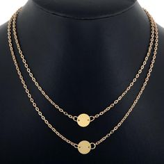 Simple and elegant. Transitions day to night! As seen in Vogue, Glamour and Bazaar Magazines.Item Materials: 14K Gold FilledLength: 470mm/18.5 Inches