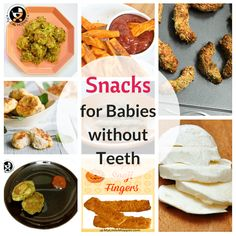 foods for babies without teeth