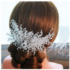 Cheap wedding bridal hair accessories, Buy Quality hair comb wedding directly from China comb wedding Suppliers: Handmade Wedding hair Accessories Crystal Hair Comb Wedding Bridal Hair Accessory Decoration Headpiece Elegant Wedding Hair, Wedding Hair Pieces, Hair Comb Wedding, Luxury Wedding, Wedding Bands, Wedding Dress, Bride Hair Accessories, Handmade Hair Accessories, Silver Accessories