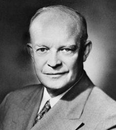 Retrato de Dwight D. Eisenhower (Derechos de Autor Bettmann / Corbis / AP Images)