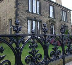 You can install cast iron gates on cast iron, stone or brick fences. This is a great way to add a beautiful accent to your exterior. Cast iron posts and gates also look great with hedge fences. Cast iron gates are the ideal entrance gates to any residential or other type of building. You can order custom cast iron gates to suit your taste and the style of your exterior.