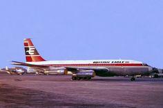 G-AVZZ Boeing 707-138B [17699] (British Eagle) Bahrain-International~A9C 02/03/1967
