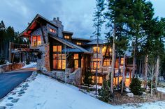 amazing mountain homes - Google Search