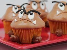 Goomba Cupcakes - QnB - YouTube