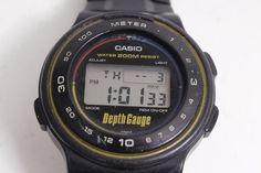Casio DW-250DG - Depth Gauge 200M