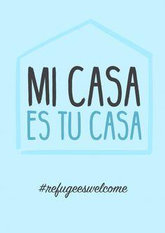 MI CASA ES TU CASA | DEMOCRACY DELIVERED | Send real postcards online | MyPostcard.com