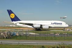 Lufthansa Technik — a380flightdeck:   Lufthansa Airbus A380-841.