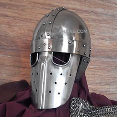 Spangenhelm with facial protection, XII century