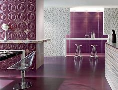 Plum Color Combination for Romantic Rooms