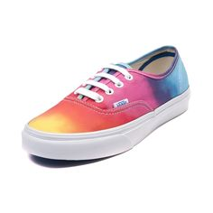 Vans Authentic Rainbow Skate Shoe from journeys