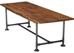 Hearty Table - eclectic - dining tables - CB2