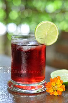 Vişne soda/Turkish sour cherry-soda