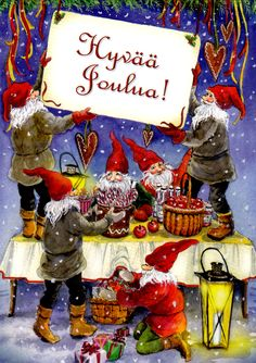Kuva albumissa CARINA STÅHLBERG - Google Kuvat Elves, Folk, Santa, Photo And Video, Google, Painting, Popular, Painting Art, Forks