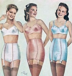 Girdle_Motife from Sears, Roebuck and Co. Catalog from 1948 ©-Girdlemaster Sexy Lingerie, Lingerie Shoot, Retro Lingerie, Lingerie Dress, Vintage Girdle, Vintage Underwear, Rockabilly Fashion, Rockabilly Girls, Rockabilly Style