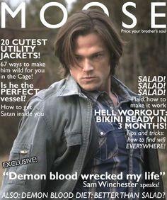 Sammy has a magazine