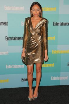 Pin for Later: Comic-Con 2015 Est Plus Sexy Que Jamais Ashley Madekwe