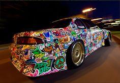 NISSAN SILVA 200SX DRIFT CAR by KONSTANTIN SHALEV http://www.turrifftyres.co.uk