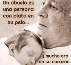 Quote in Spanish about grandparents, frase sobre los abuelos