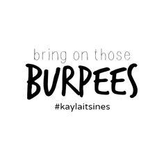 #kaylaitsines #kaylasarmy #thekaylamovement #doingkayla #bbg #bbggirls #bbgmeme #motivation #fitness #fitfam #fitspo #cardio #bikinibodyguide #workout #exercise #burpees