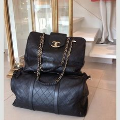 #bags #classy #chanel #luxury #black #fashion #girls