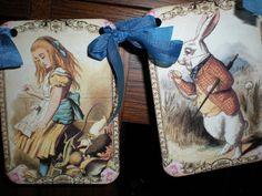 Alice in Wonderland banner / garland