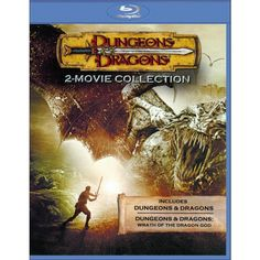 Dungeons & Dragons/Wrath of the Dragon God (With Wrath of the Titans Movie Cash) (Blu-ray) (Widescreen)