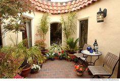center courtyard house - Google Search
