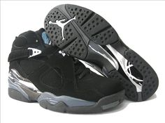 0362d4a303d Womens Air Jordan 8 Retro Black Chrome , Price: $65.00 - Jordan Shoes,Air  Jordan,Air Jordan Shoes