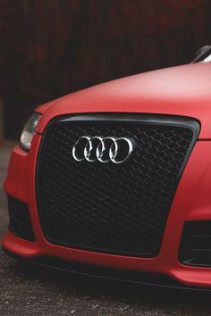 ♂ red car audi