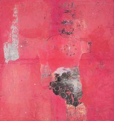 © Philippe Croq, sans titre, technique mixte, papier, bois, 95 x 90 cm, 2010