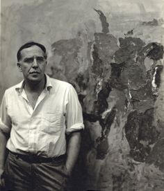 """Philip Guston - """"I believe it was John Cage who once told me, 'When you start working, everybody is in your studio—the past, your friends, enemies, the art world, and above all, your own ideas—all are there. But as you continue painting, they start leaving, one by one, and you are left completely alone. Then, if you're lucky, even you leave.' """""""