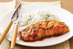 Bust out of your grilling routine with tender, mouthwatering salmon. Brown sugar and BBQ sauce combine for a sweet-savory experience.