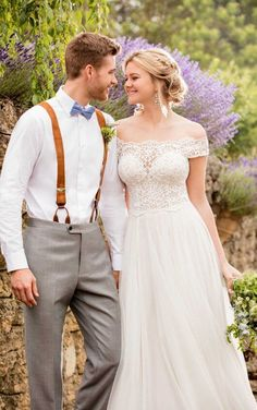 D2446 Breezy Beach Wedding Dress by Essense of Australia