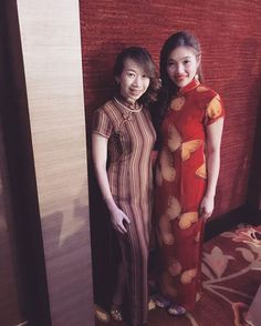 Back to since 1907. Thank you to our gorgeous client for the photo! #qipao #wedding #vintageclothing #gown #dinnerdress #cheongsam #weddinggown #ipohboutique #ipohtown #ipohperak #pccci110aniversary