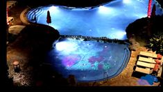 Raylight4D - 3D Projection Mapping in Pools and Water