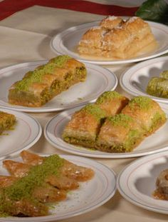 Baklava - Karakoy Gulluoglu - even translated to English I don't understand much on this site, but there's an awesome virtual tour of the place.  I'm hungry now.