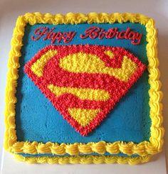 R for Riley Superman Birthday Party, 6th Birthday Parties, Parties Kids, Birthday Cake, Superman Cupcakes, Superhero Cake, Cakes For Boys, Love Cake, Pretty Cakes
