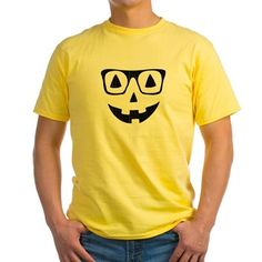 Pumpkin with glasses T-Shirt