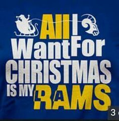Bring the Rams back to Los Angeles.
