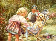 Children Kathryn Andrews Fincher. So sweet !!