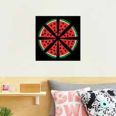 """""""Watermelon Slices"""" Photographic Print by Pultzar   Redbubble"""